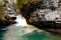 Johnston Canyon, Banff NP. Alberta.